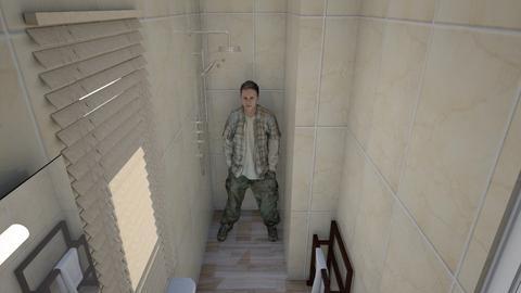 Jordan bedroom - Bathroom - by Linda50