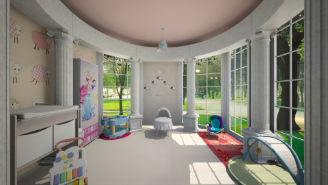 Happy life - Kids room - by Pilita Jabers