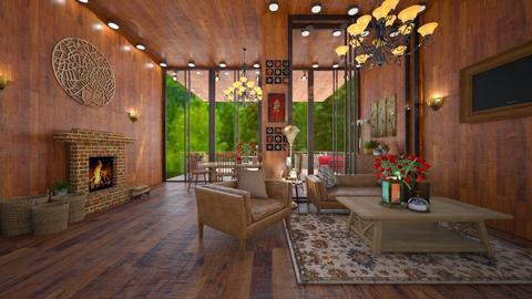 mountain - Living room - by joja12345678910