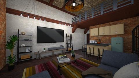 loft apartment - Living room - by akaram