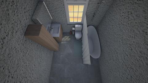 i tried - Bathroom - by scourgethekid