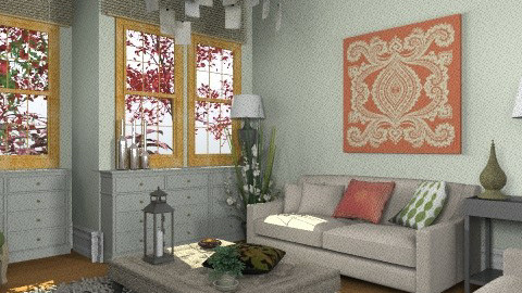 Heather - Country - Living room - by camilla_saurus