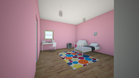little girls bedroom - Kids room - by lala is awesome