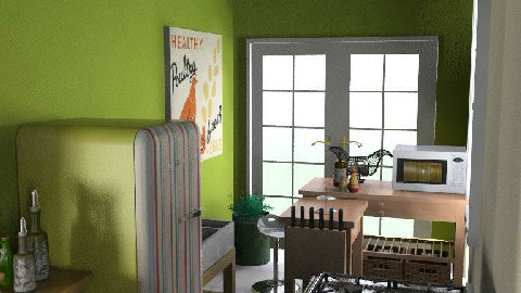 MillyC - kitchen - Country - Kitchen - by hunny