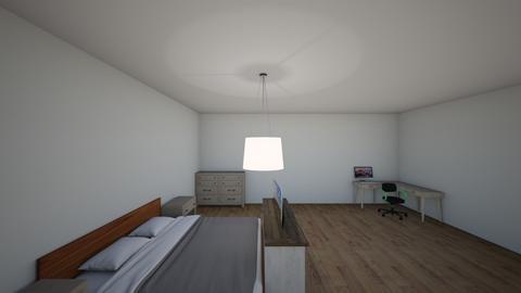 room - Modern - Bedroom - by brandygedopt