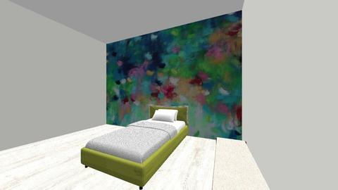 Bedroom Mural - Glamour - Bedroom - by XxDionexX