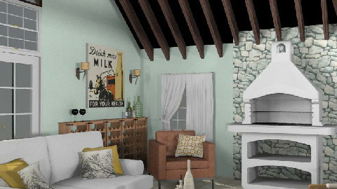 T12- Rustic comfort - Rustic - Living room - by gingerpantz