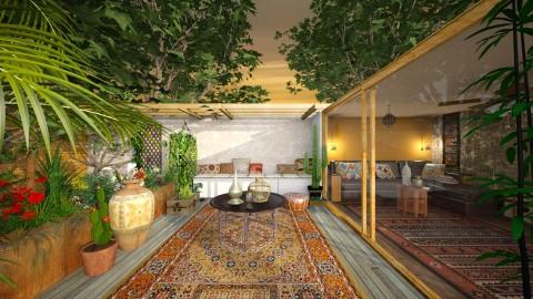 terrace living - Garden - by jjannnii