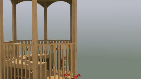Relaxing Garden - Minimal - Garden - by betterwallpaper