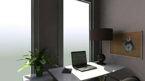 San Jose Utopica desk2 - Office - by Arianis Gutirrez Vannucci