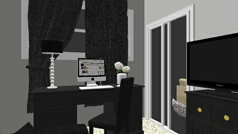 Den and Home Office  - Glamour - Office - by Shauna Suriani