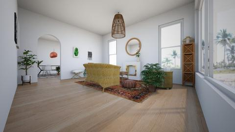 Boho Bamboo  - Minimal - Living room - by LightLuzLux