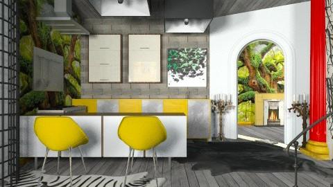 The Cruel Kitchen  - Modern - Kitchen - by vesperart