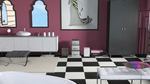Almost Ready - Eclectic - Bathroom - by channing4