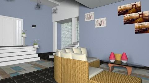 modern sala  - Living room - by thyago123