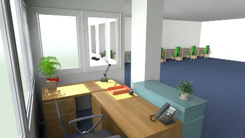 New Drawing office 3 - Classic - Office - by Dolwen