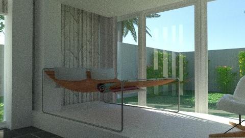 Sun Room - Modern - Living room - by drummerx33grl17