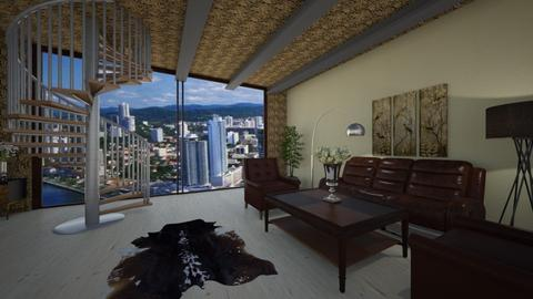 Br - Modern - Living room - by Saj Trinaest