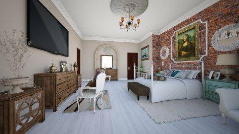 Master Confort - Glamour - Bedroom - by DeborahArmelin