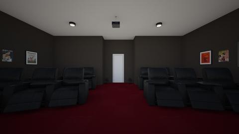 Movie Theater - by nathalyhaviar