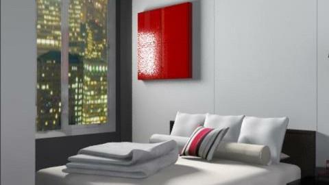 Wall Street Digs 2 - Minimal - Bedroom - by jenshadow_222