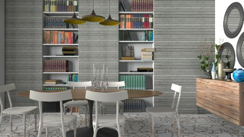 Cracked Dining Room - Glamour - Dining room - by 3rdfloor