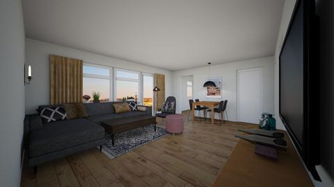 apt - Living room - by ellafrodin