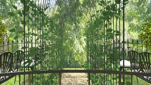 Garden path - Classic - Garden - by milyca8