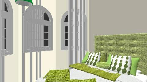 GUEST ROOM WITH HEADBOARD - Minimal - Bedroom - by czaso45