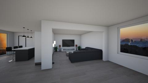 my dream house - Living room - by WARDjeuh1
