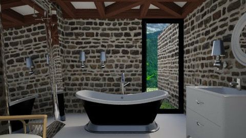 Modern Castle Bathroom - Eclectic - Bathroom - by 3rdfloor
