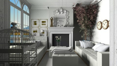 40 - Classic - Living room - by Ivana J