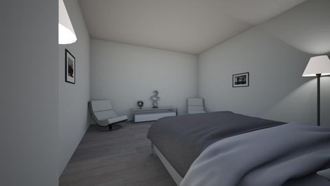 Teen Living 2 - Modern - Bedroom - by Weetlee