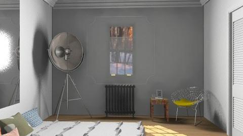 White - Modern - Bedroom - by drummerx33grl17