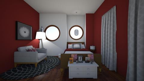 Small Bedroom 20 - Modern - Bedroom - by XiraFizade