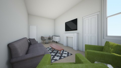 New Flat 2 - Living room - by davidbenpark