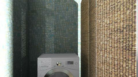 Banyo6 - Country - Bathroom - by pelinist