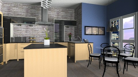 the ultimate kitchen - Glamour - Kitchen - by shoosh57
