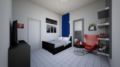 hec - Bedroom - by bittersweetfree