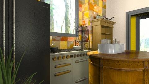 Small grandeur cook - Glamour - Kitchen - by mrschicken