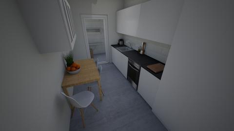 Family Flat Kitchen - Modern - by everybodyfeel
