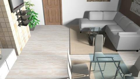 Andrea - Living room - by acutajar