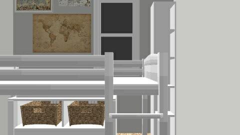 dorm - Living room - by hanna65