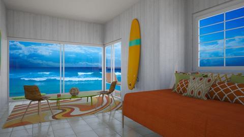Surf Bedroom - Bedroom - by zizzy