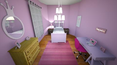 Kids room 03 - Feminine - Kids room - by muleok