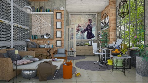 my little home - Eclectic - Living room - by Ida Dzanovic
