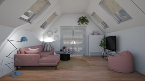paris attic - Living room - by wholesnac
