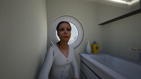 Airplane Lavatory - Bathroom - by SammyJPili