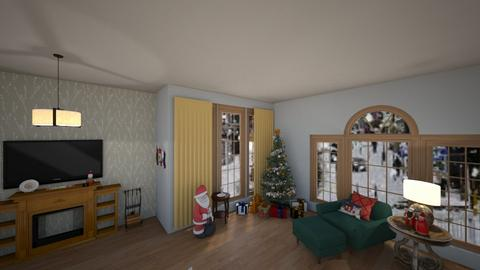 Christmas - Living room - by trishk82