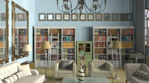 poshish - Glamour - Living room - by Ariadne491